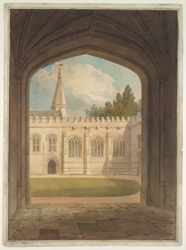 Balliol College, Oxford, 1816 f9